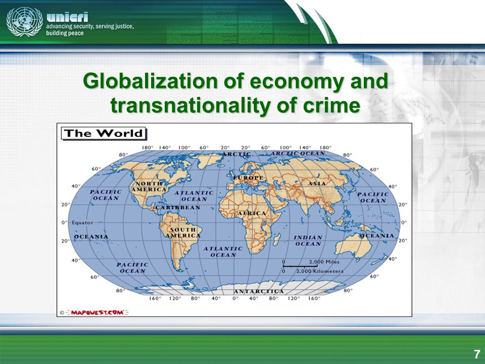 Globalization of economy and transnationality of crime