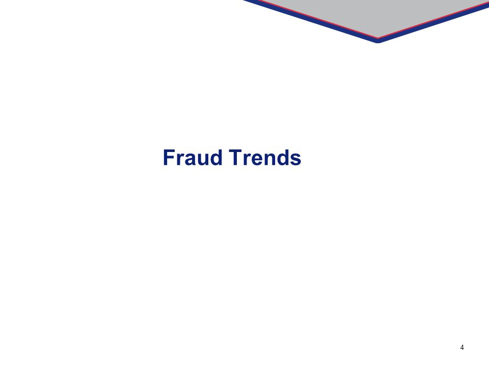 Fraud Trends