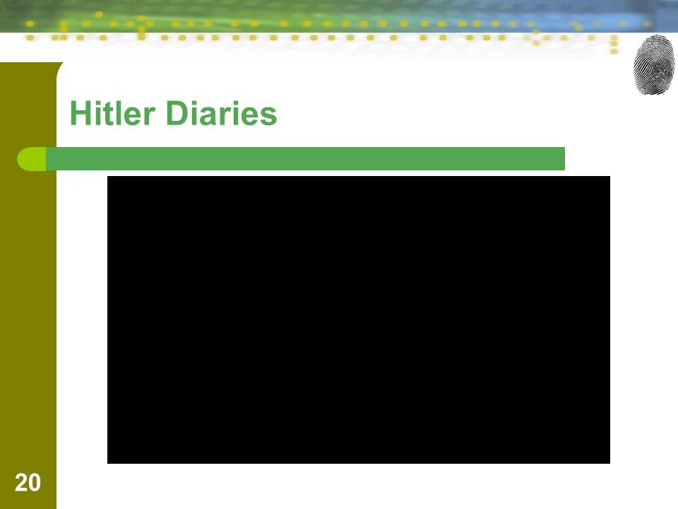 Hitler Diaries