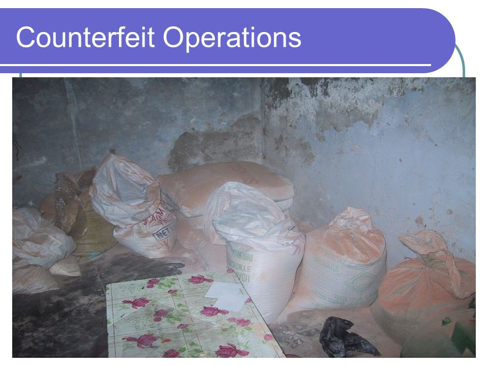 Counterfeit Operations