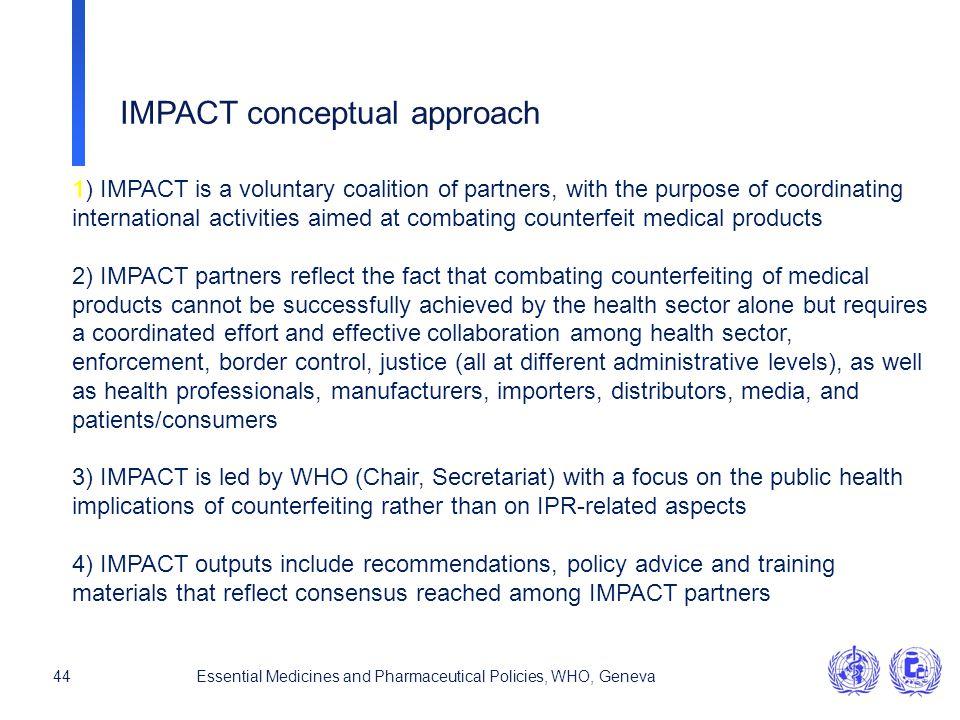IMPACT conceptual approach