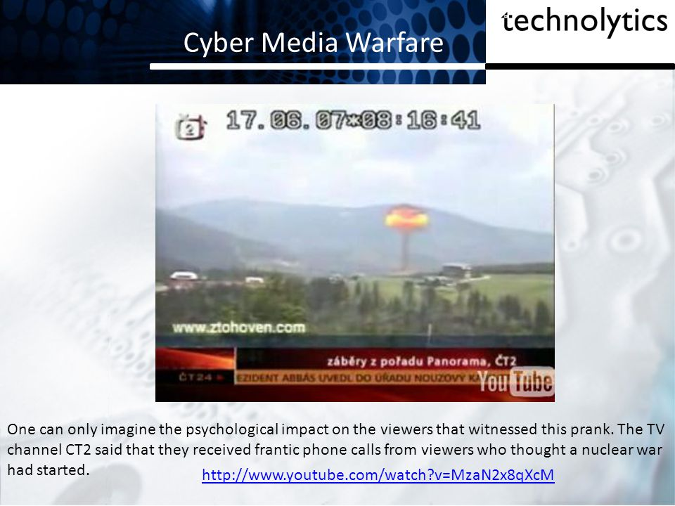 Cyber Media Warfare