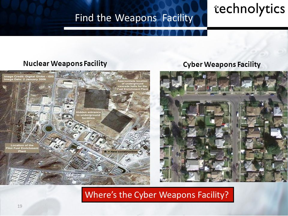 Find the Weapons Facility