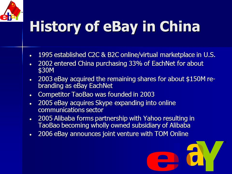 History of eBay in China