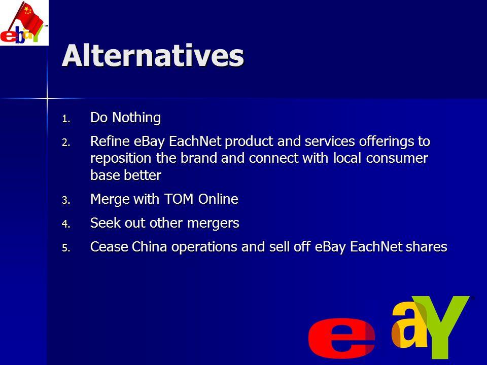 Alternatives Do Nothing