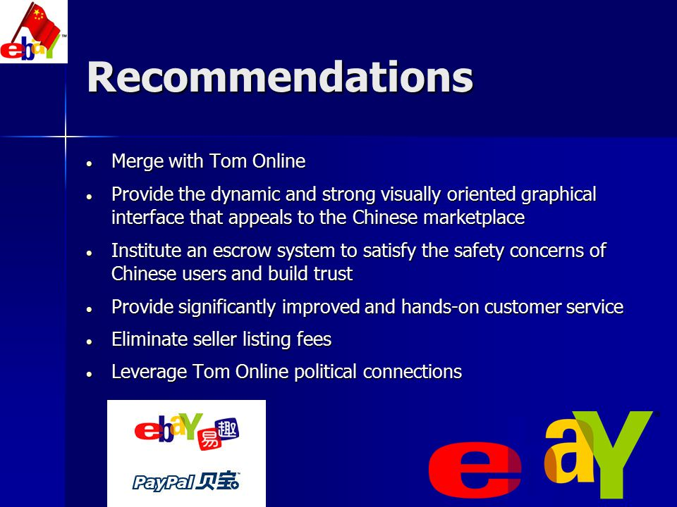 Recommendations Merge with Tom Online
