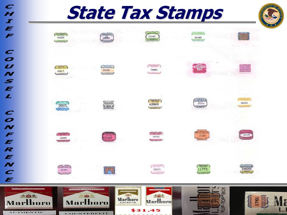 State Tax Stamps