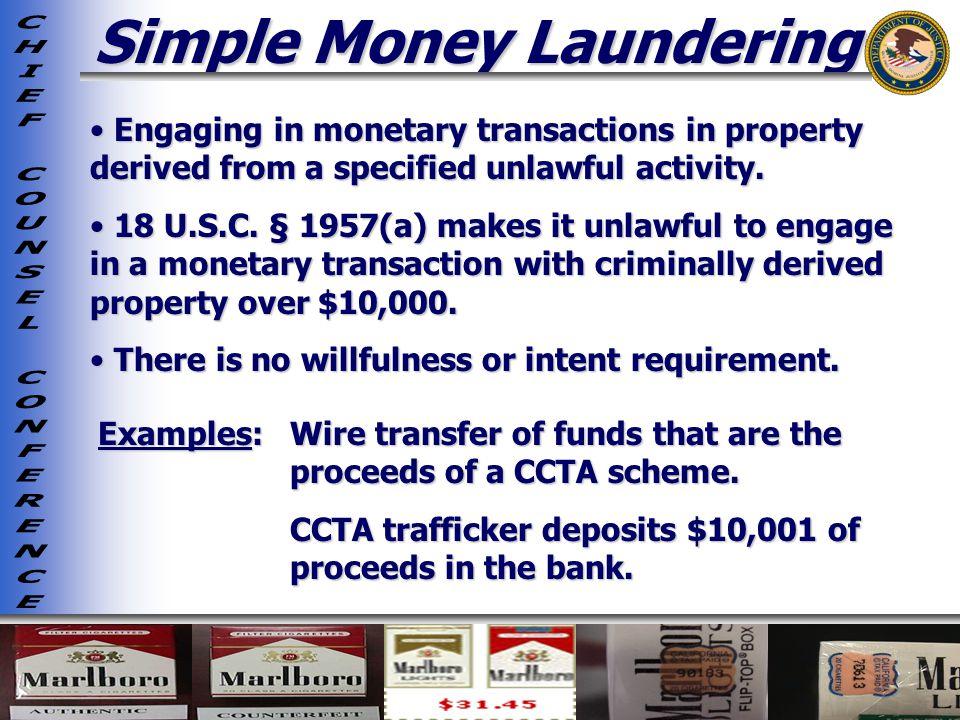 Simple Money Laundering