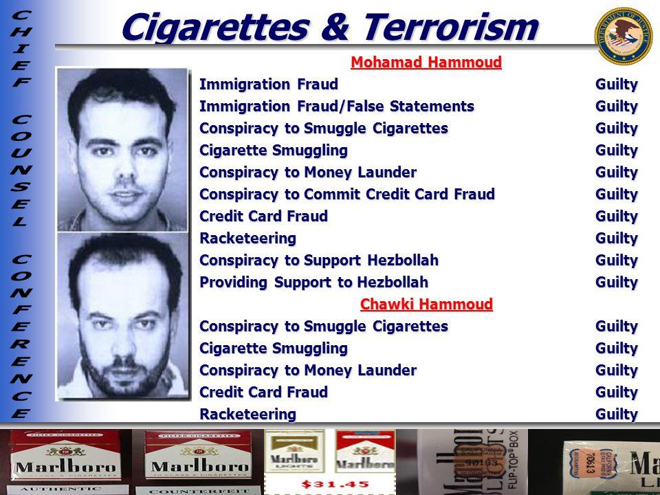 Cigarettes & Terrorism