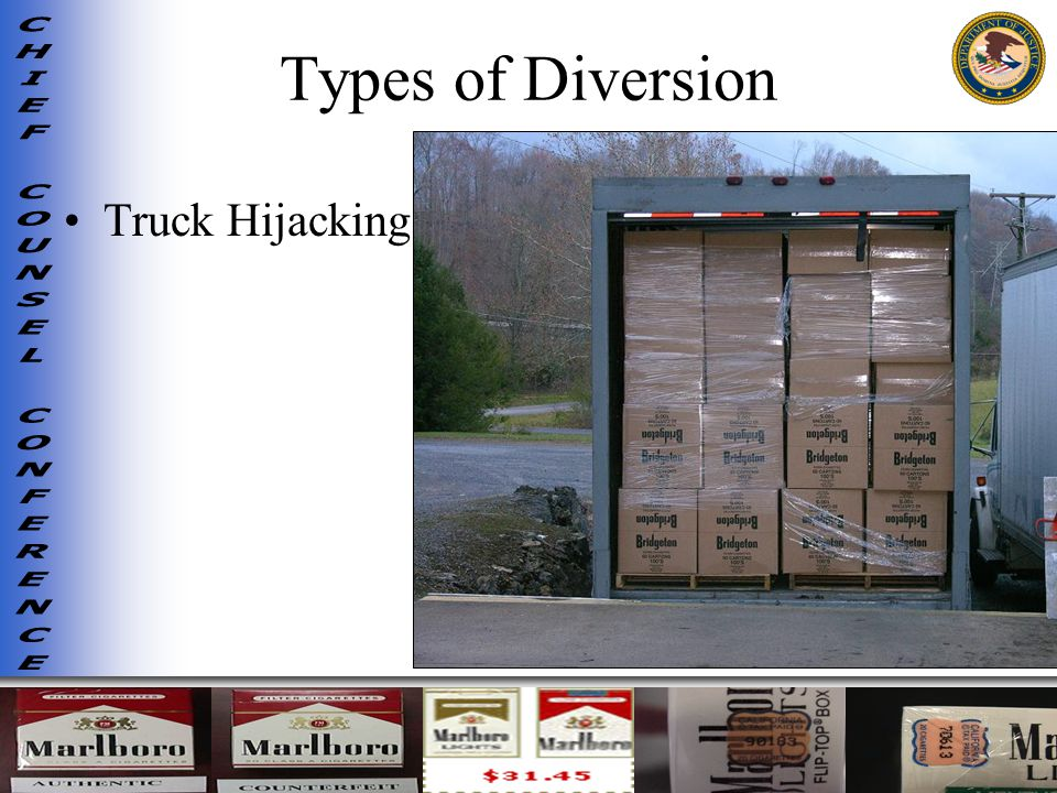 Types of Diversion Truck Hijacking