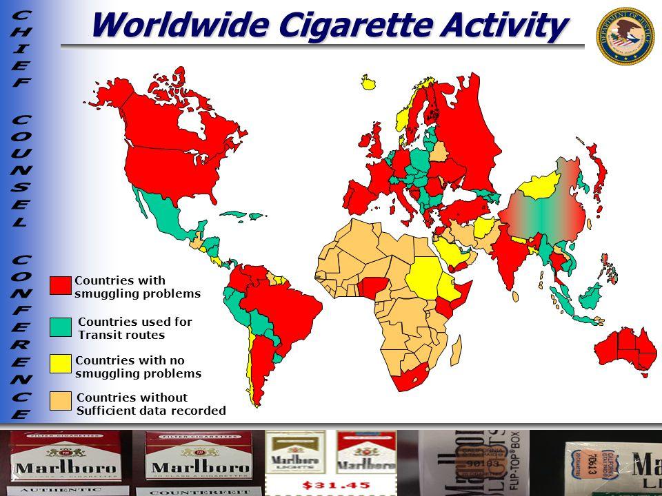 Worldwide Cigarette Activity