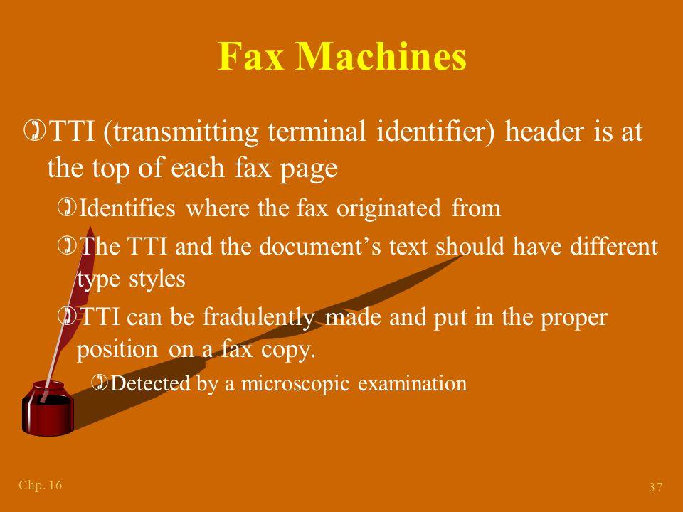 Determining Fax Machine's Model Type