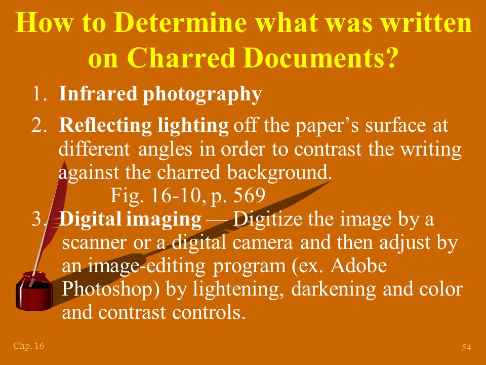 V. Other Document Problems