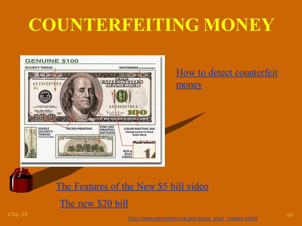 Counterfeit Money Videos