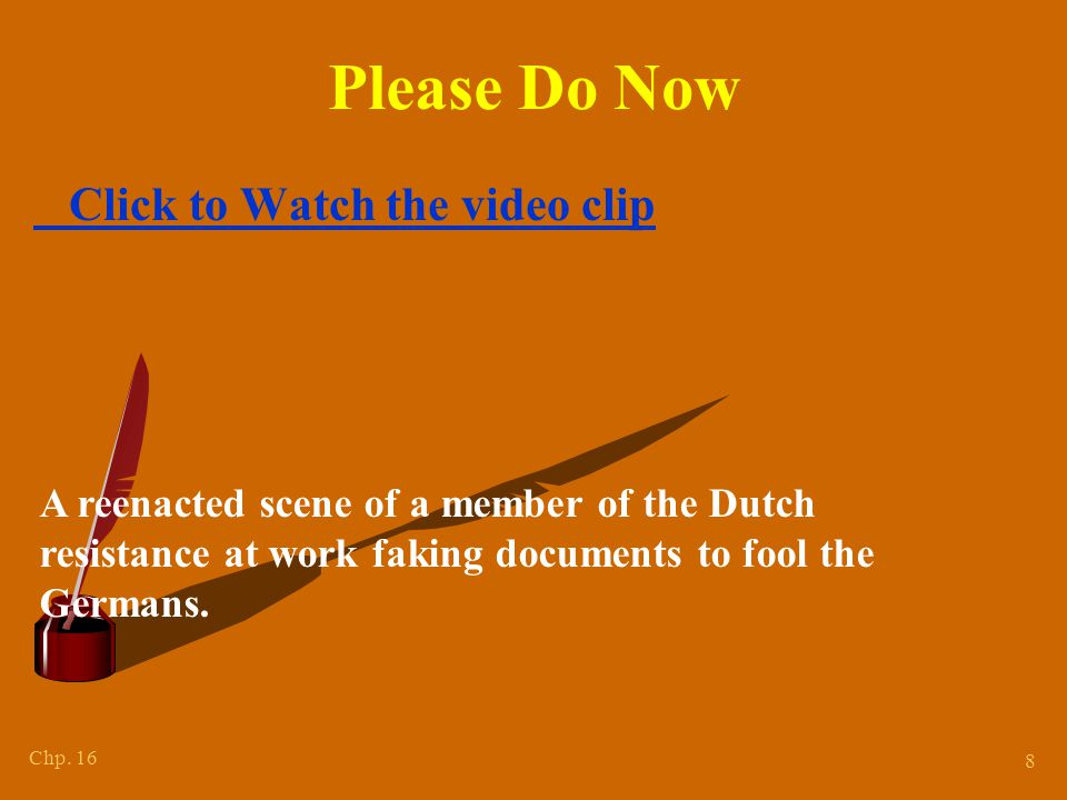 Forgery Videos Click for video clip on Forgery Expert 4:27 min