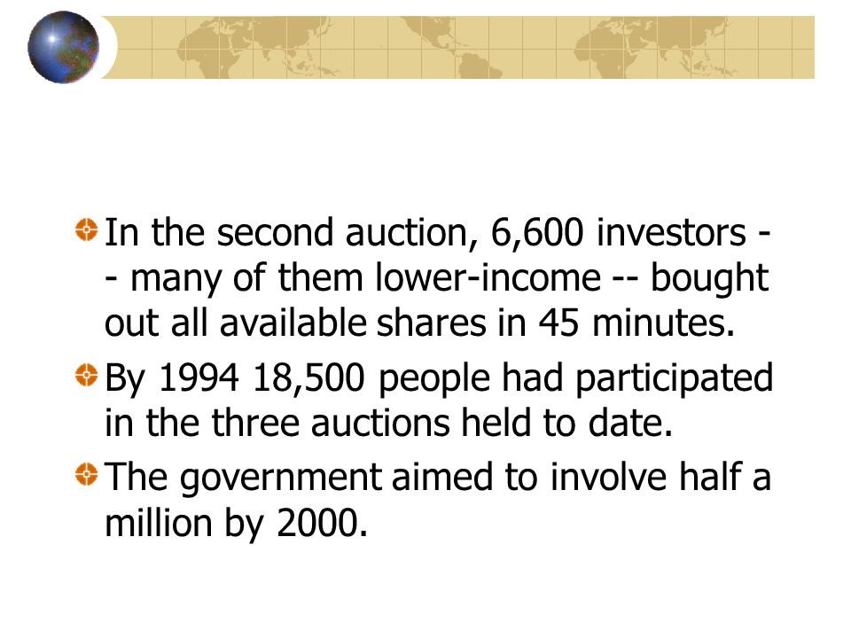 In the second auction, 6,600 investors -- many of them lower-income -- bought out all available shares in 45 minutes.