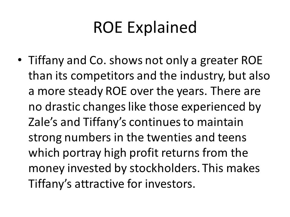 ROE Explained