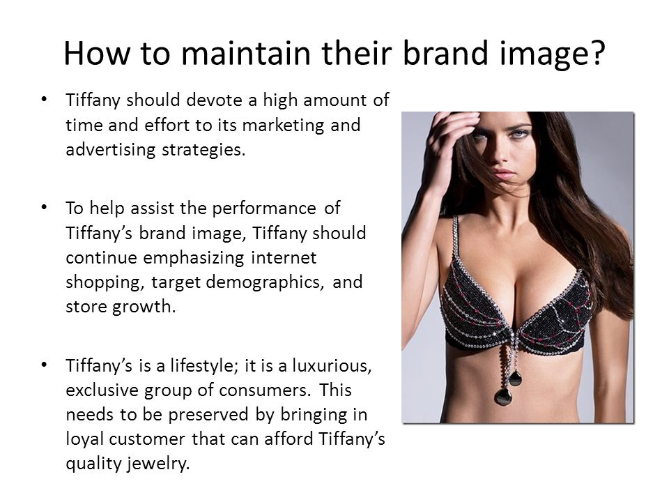 How to maintain their brand image