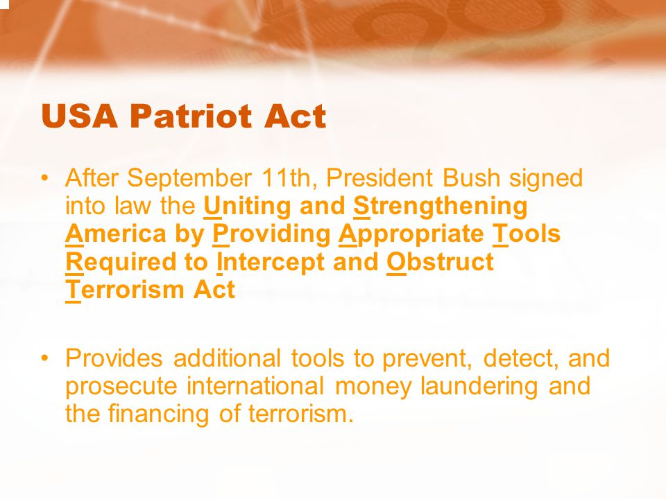 USA Patriot Act