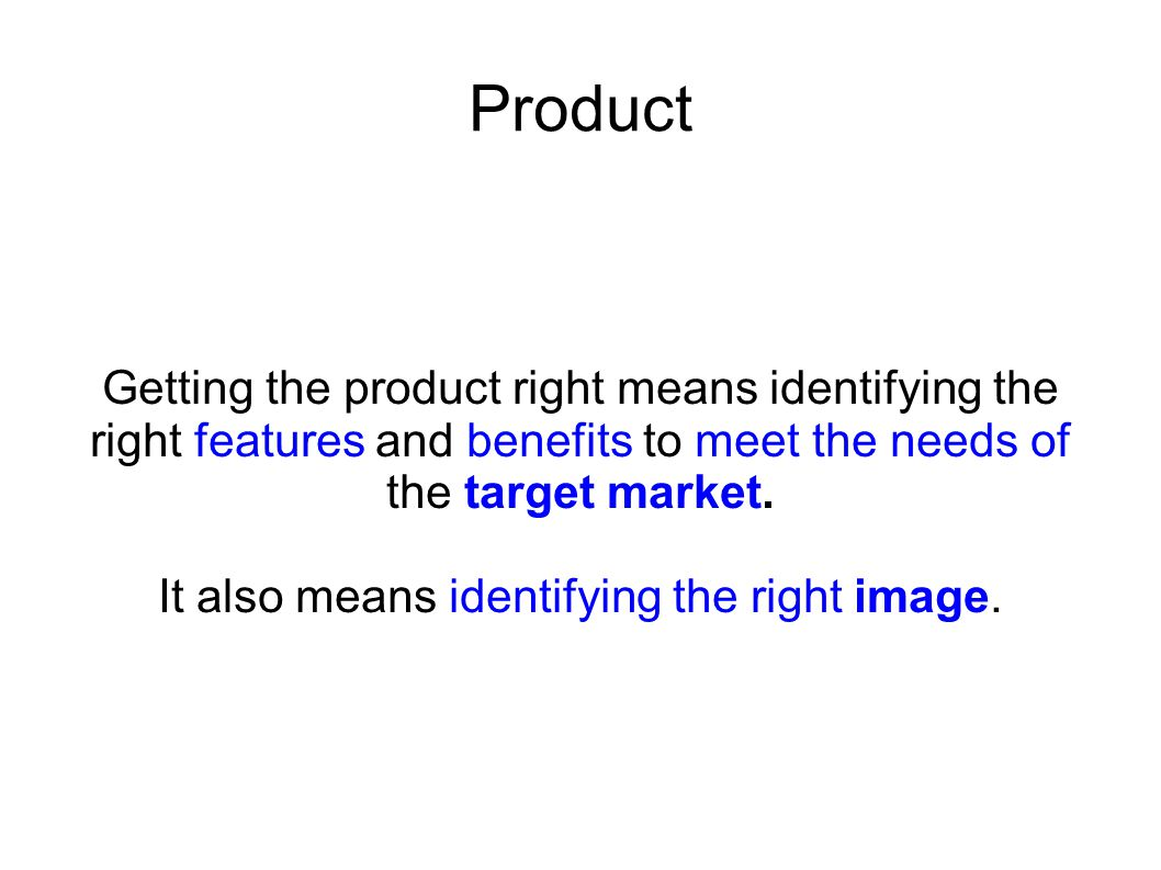 It also means identifying the right image.