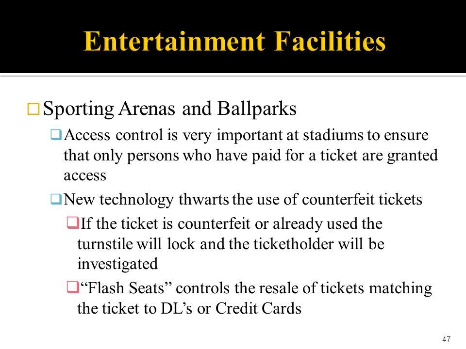 Entertainment Facilities