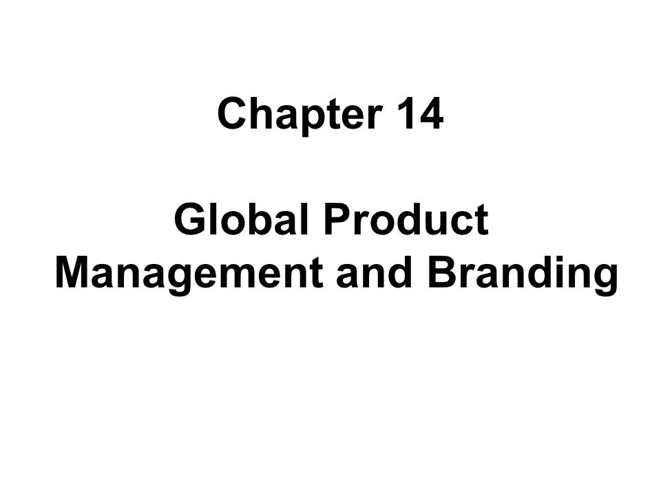 Management and Branding Management and Branding