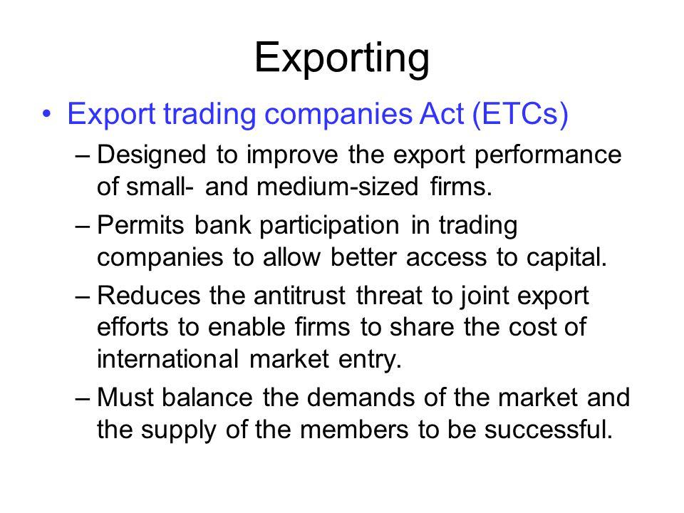 Export trading company act - Free forex indicator 2017 dubai