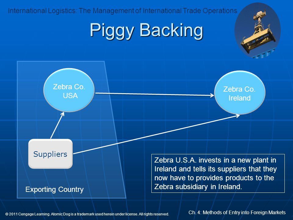 Piggy Backing Zebra Co. Zebra Co. Ireland USA Suppliers