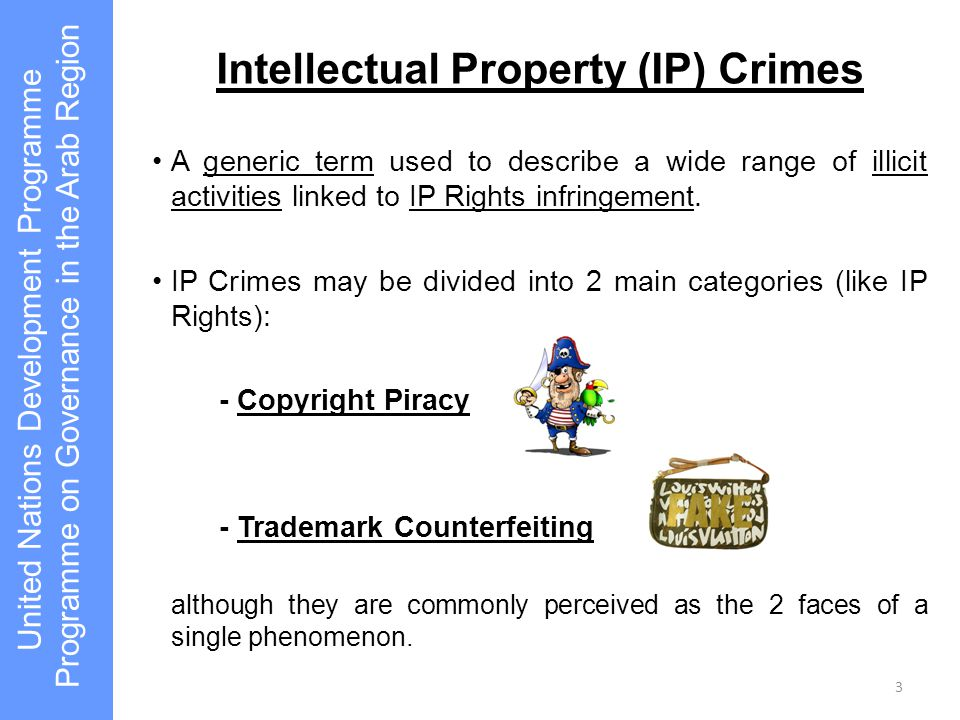 Intellectual Property (IP) Crimes
