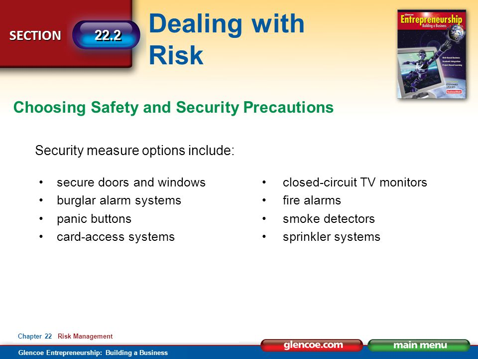 Choosing Safety and Security Precautions