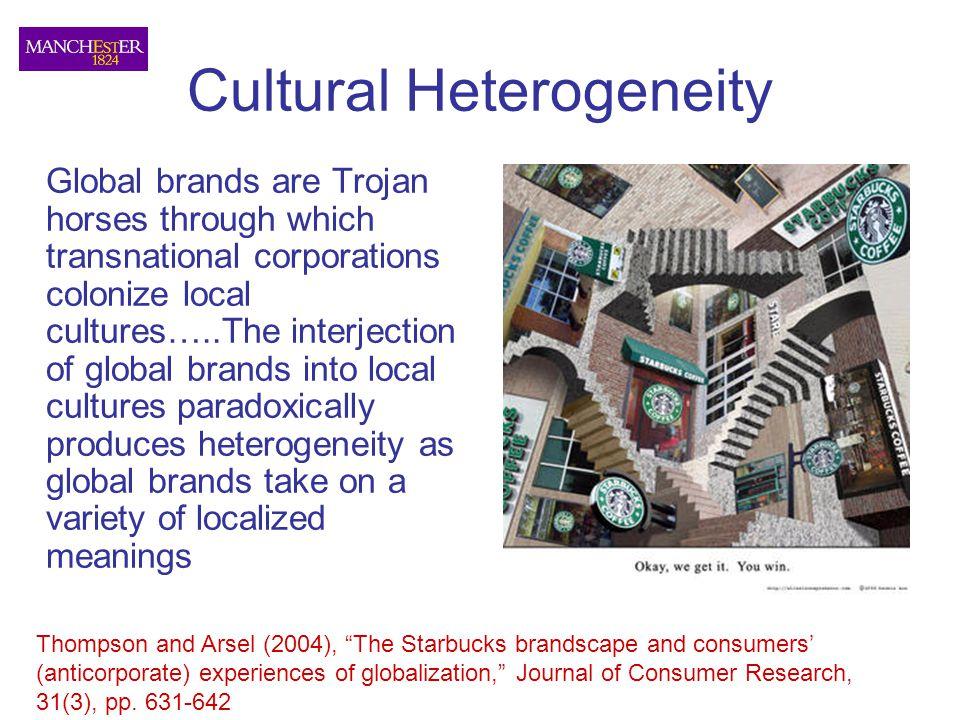 Cultural Heterogeneity