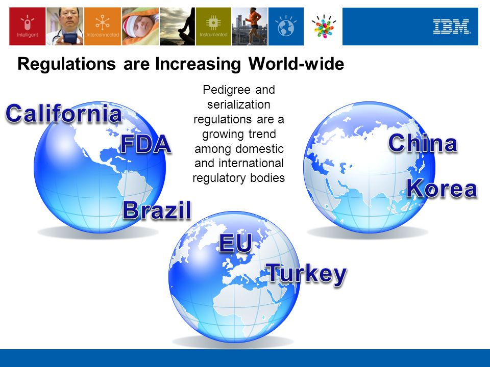 Regulations are Increasing World-wide