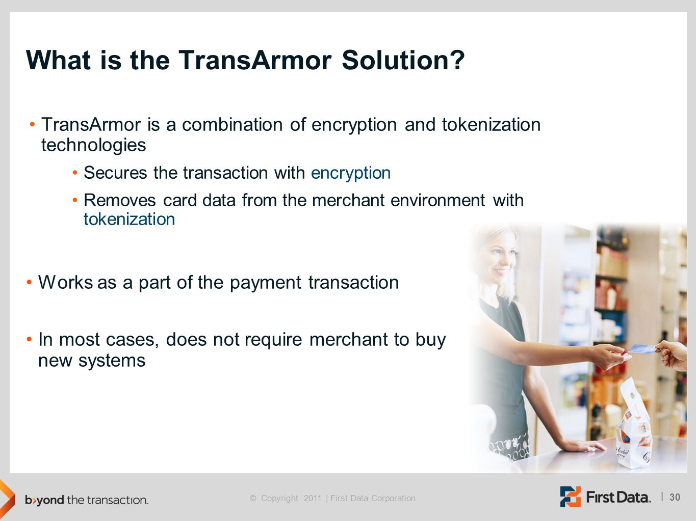 What is the TransArmor Solution