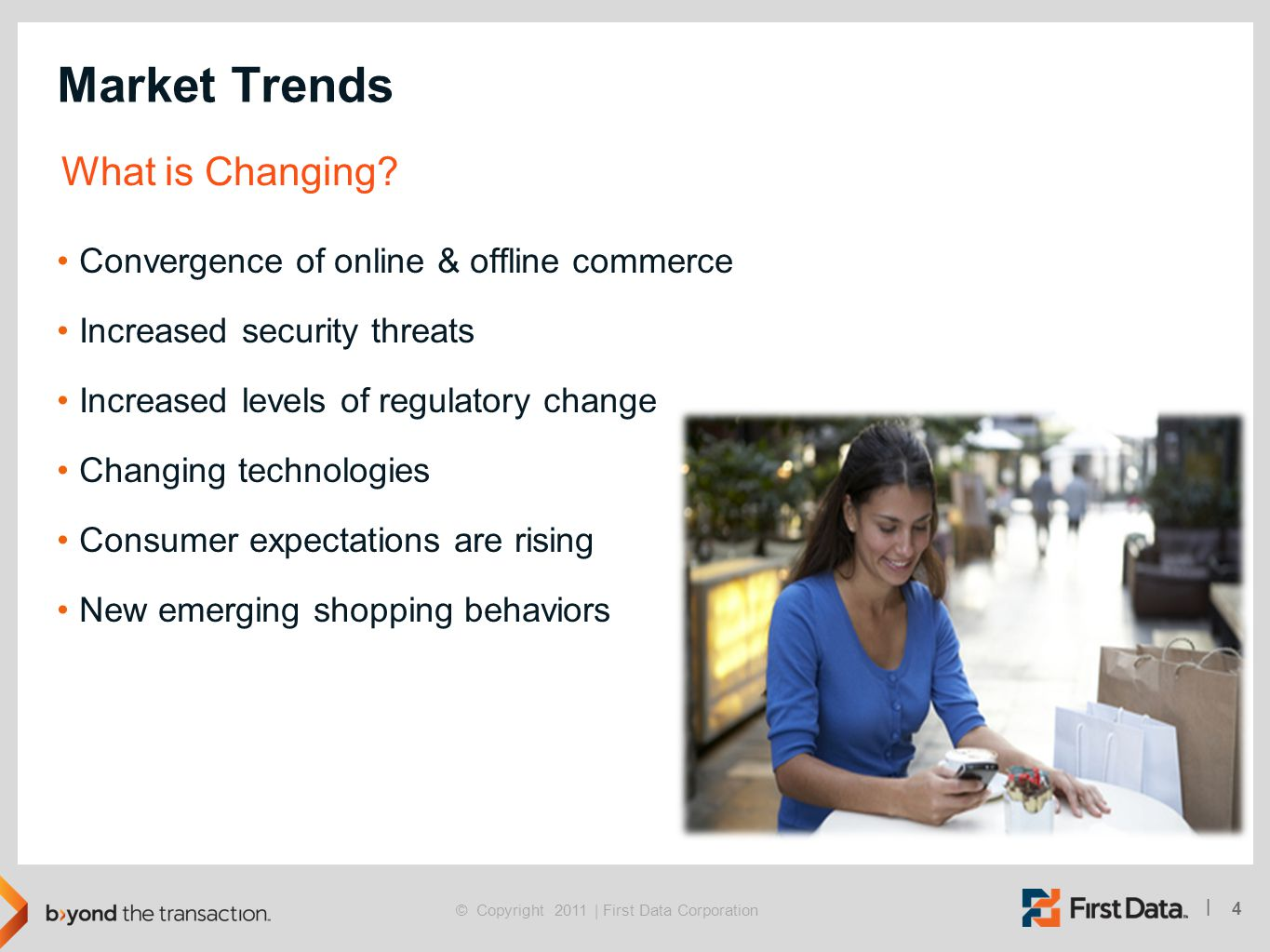 Market Trends What is Changing