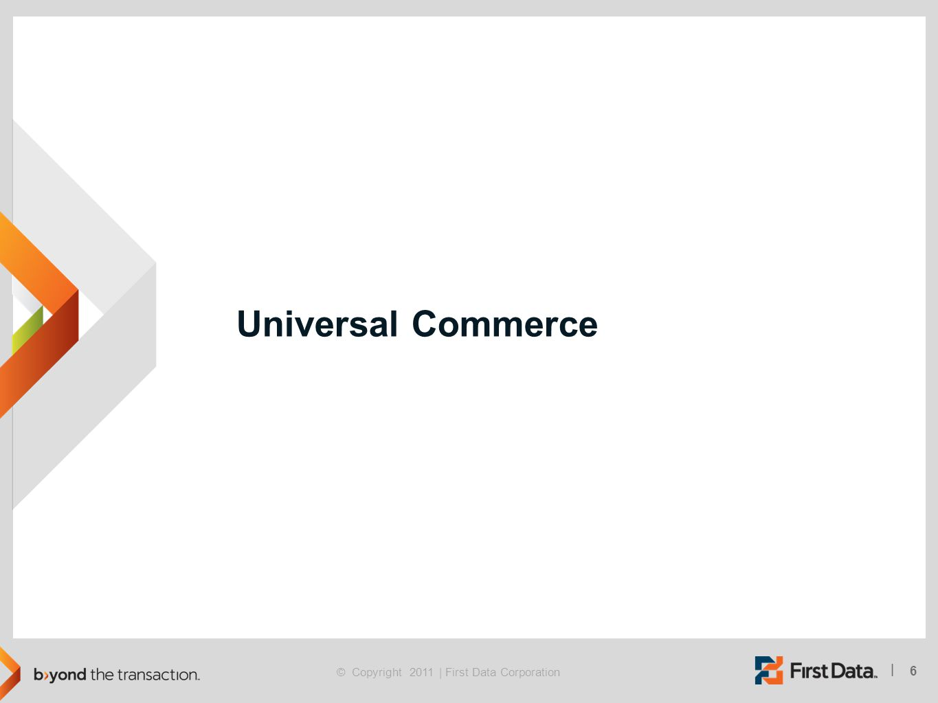 Universal Commerce