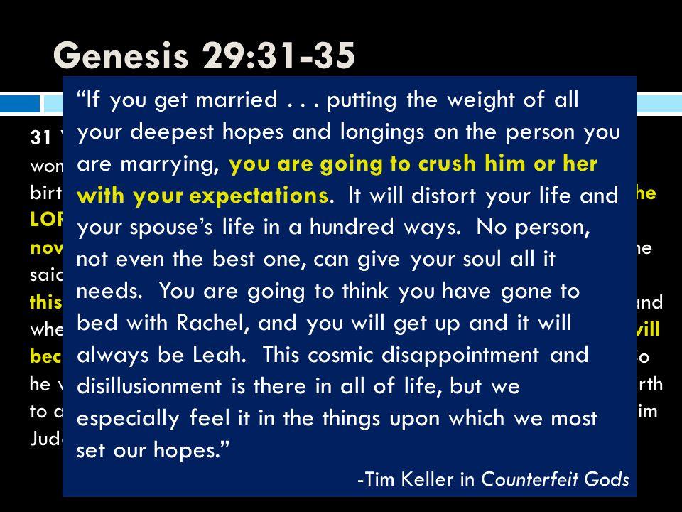 Genesis 29:31-35