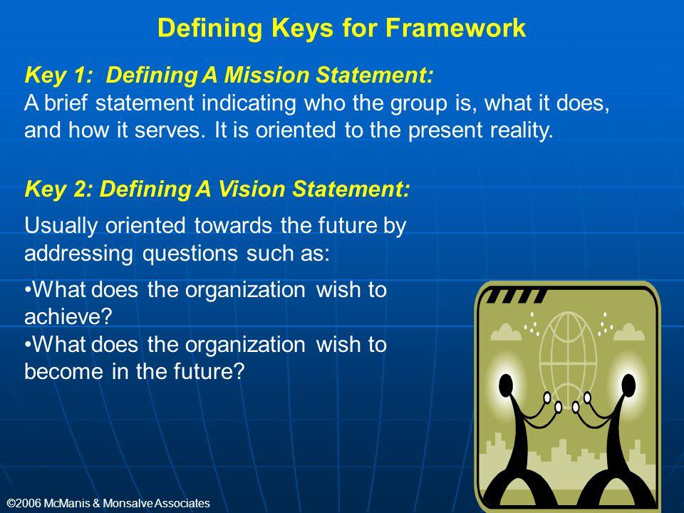 Defining Keys for Framework