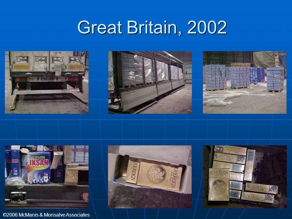 Great Britain, 2002