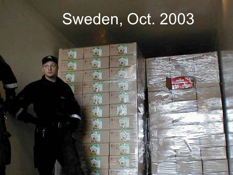 Sweden, Oct. 2003