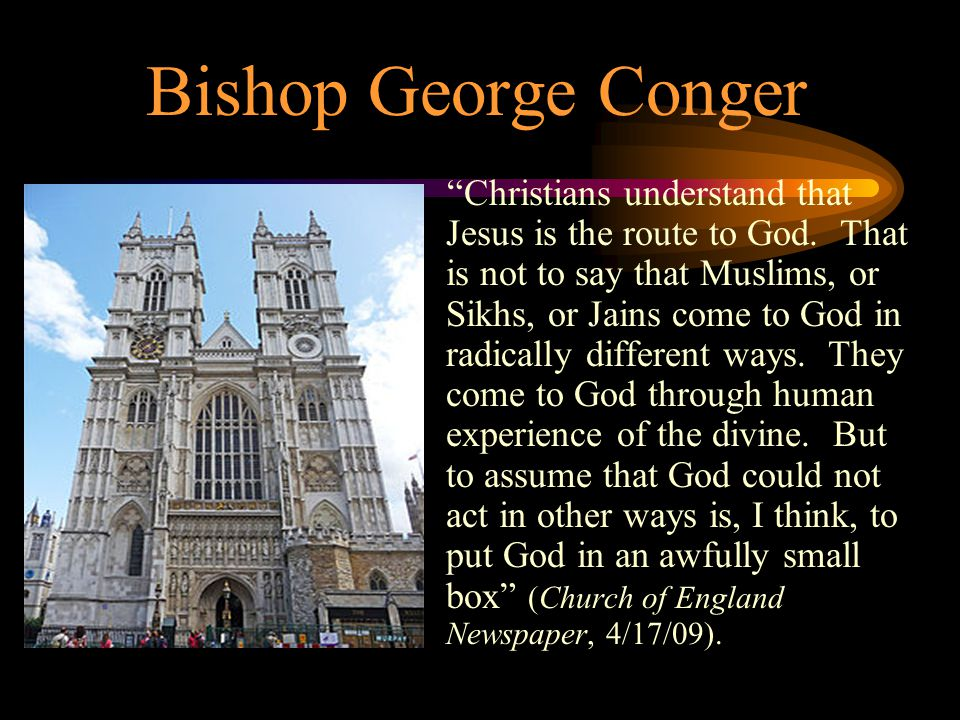 Bishop George Conger