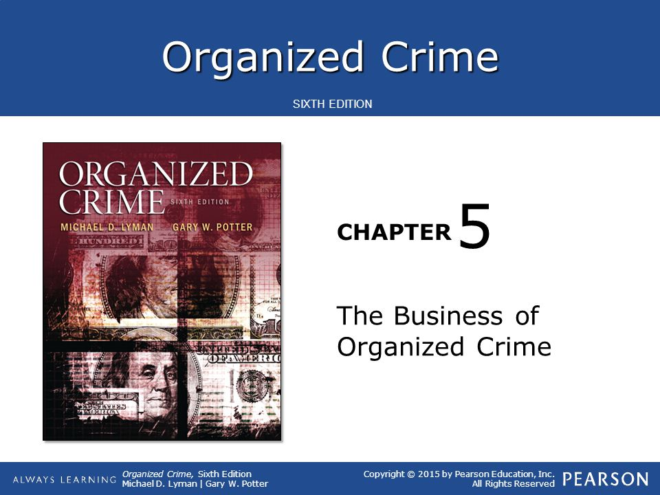 5 The Business of Organized Crime