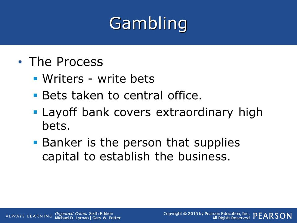 Gambling The Process Writers - write bets
