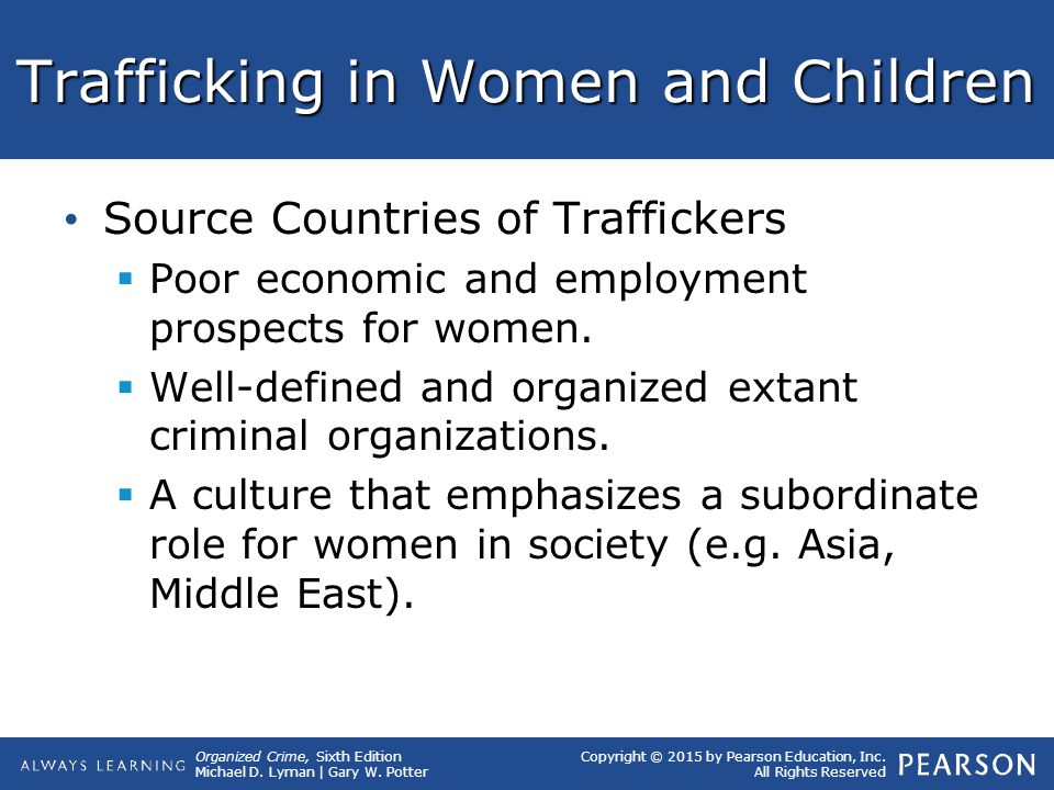 Trafficking in Women and Children