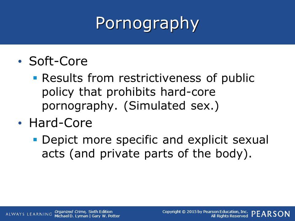 Pornography Soft-Core Hard-Core