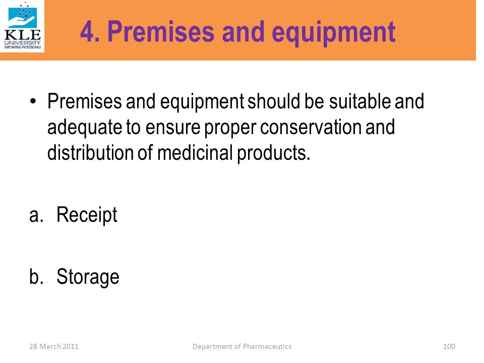 4. Premises and equipment