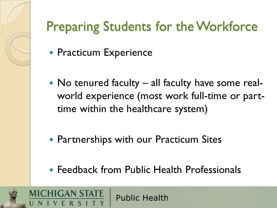 Preparing Students for the Workforce