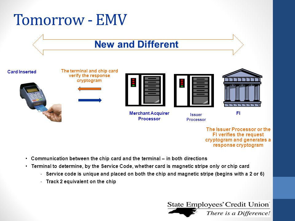 Tomorrow - EMV New and Different