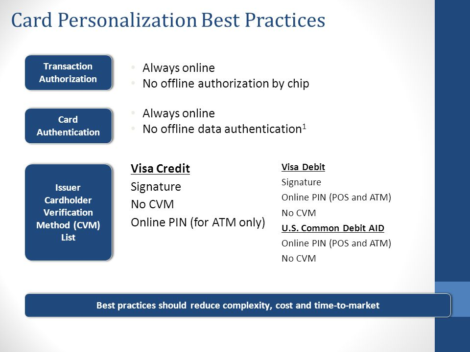 Card Personalization Best Practices