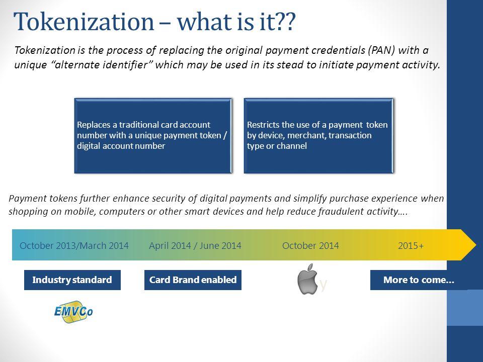 Tokenization – what is it