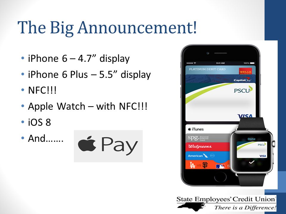 The Big Announcement! iPhone 6 – 4.7 display